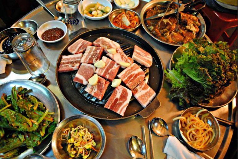 Receta de Samgyeopsal coreano
