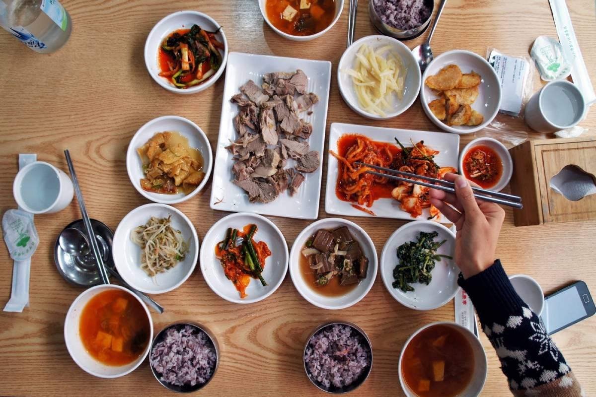 Comida coreana del Norte