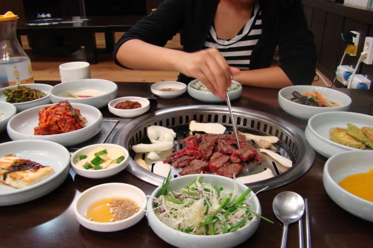 Comida coreana del SUR