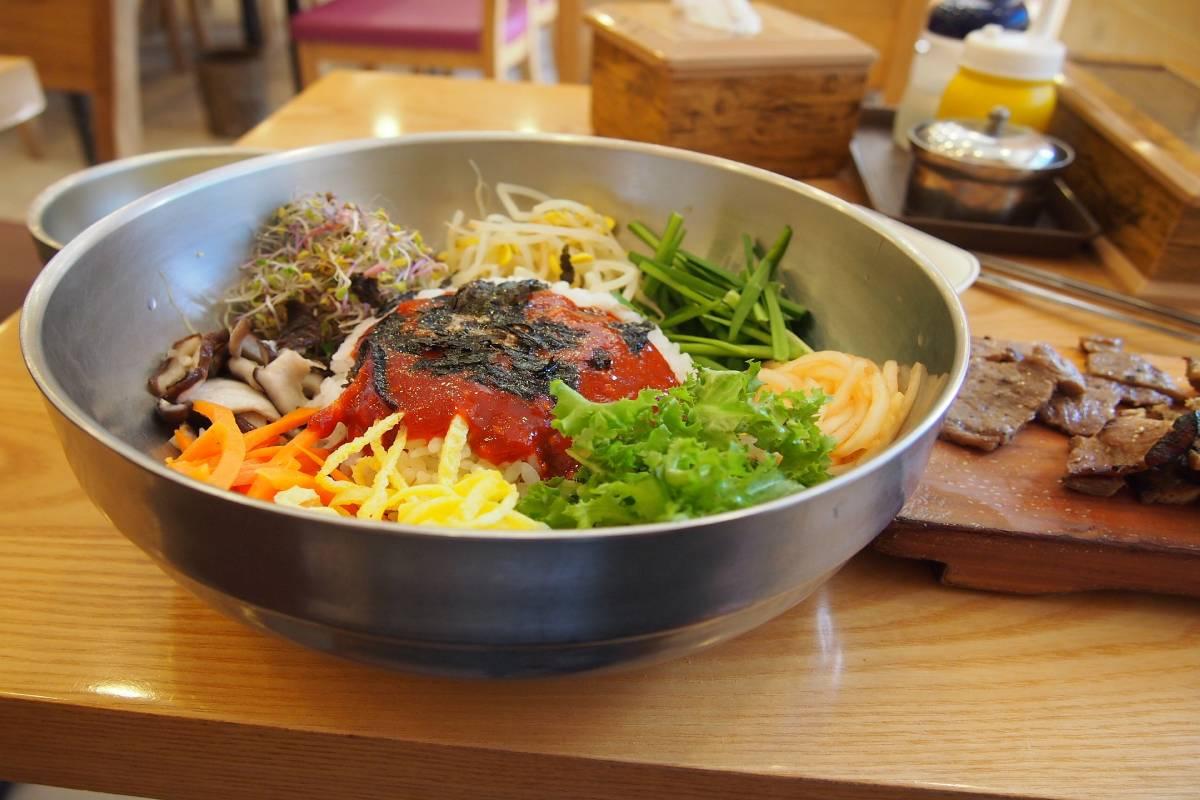 Comida coreana en Bogotá