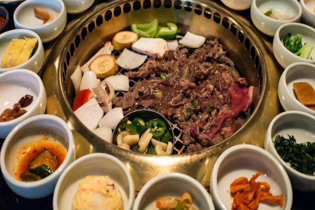 Comida coreana saludable